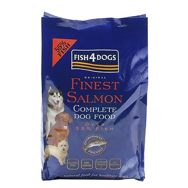Fish4dogs Adult Complet Salmón pienso natural para perros