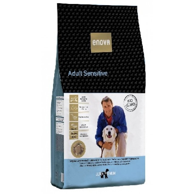 Enova Adult Sensitive con pescado pienso natural para perros
