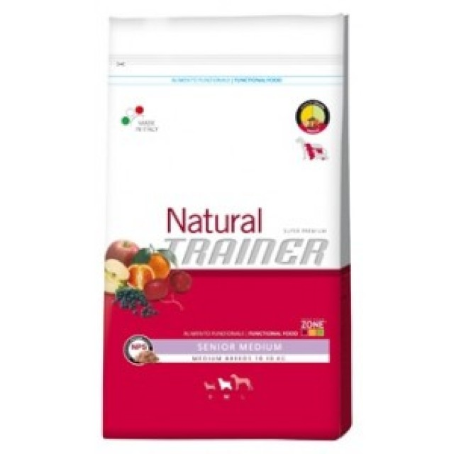 Natural Trainer Senior Medium, alimento natural para perros.