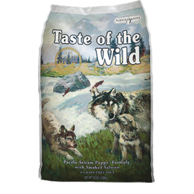 Taste of the Wild Pacific Stream Puppy, pienso natural para cachorros
