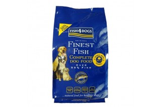 Fish4dogs Complete Adult Mini pienso natural para perros