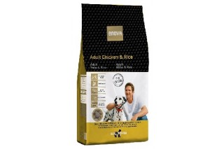 Enova Adult pollo y arroz pienso natural para perros