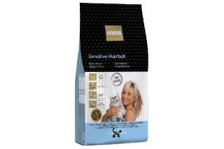 Enova gatos sensitive hairball