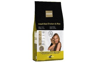 Enova Adult Mini pollo y arroz  pienso natural para perros